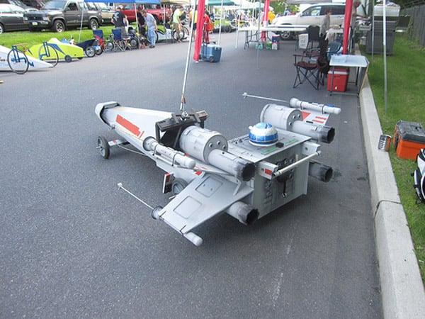 x-wing the papier boy soapbox derby car diy instructables star wars