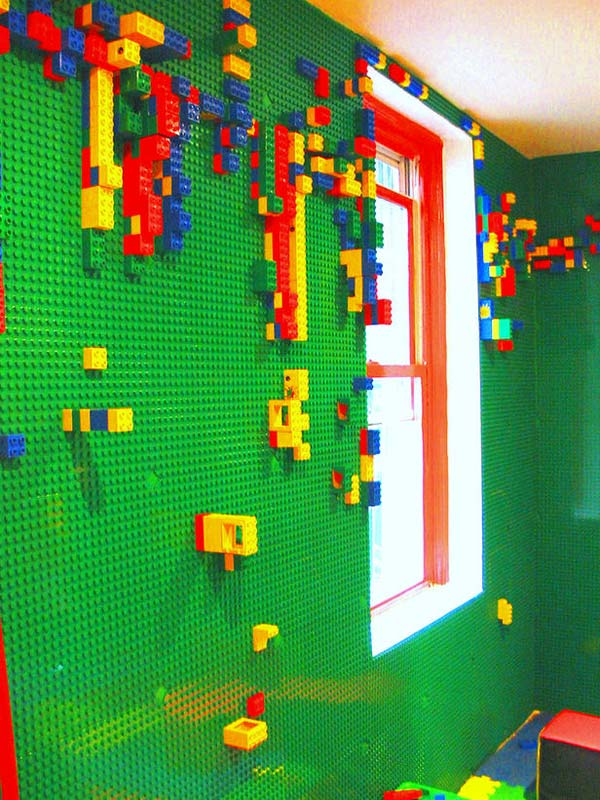 lego walls toys playroom great builds