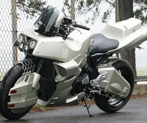 Real Robotech Cyclone Motorcycle: 3 Years in the Making, Still Awesome