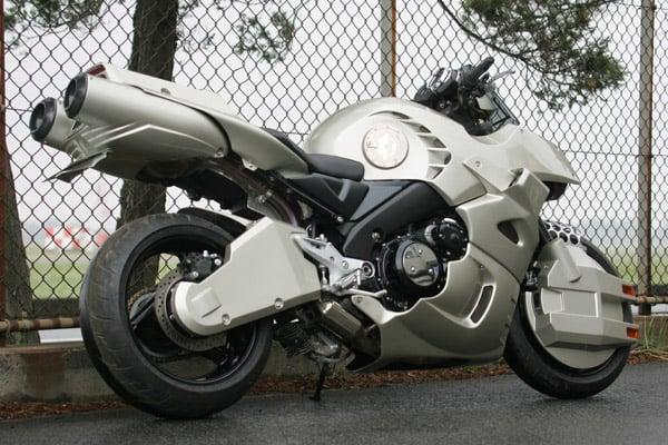 robotech cyclone motorcycle bike replica japan anime robots