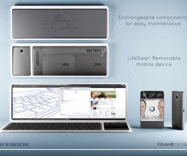 Fujitsu Lifebook Frame Concept: Too Wide for Its Own Good?
