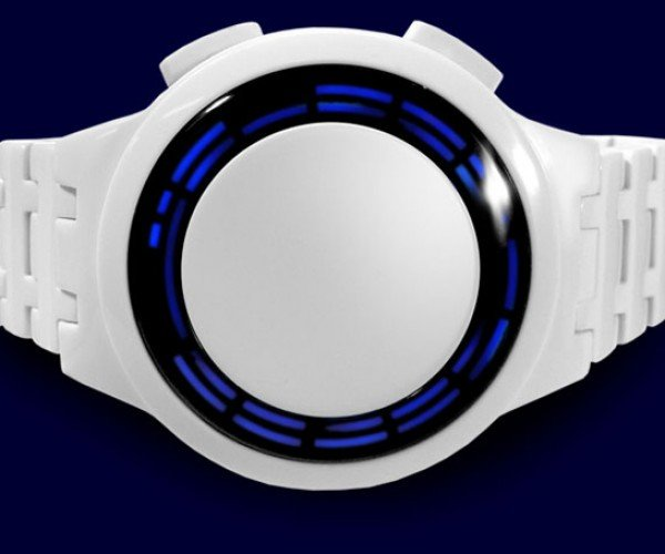 Tokyoflash Kisai RPM Acetate Watch: No Hands, But Plenty of LEDs