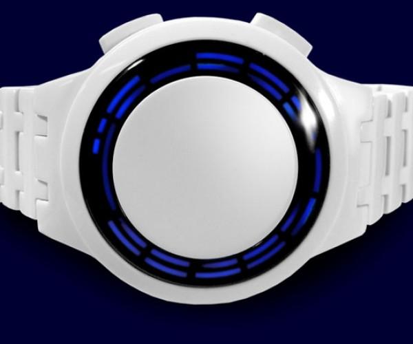 Tokyoflash Kisai RPM Acetate Watch: No Hands, But Plenty of LEDs