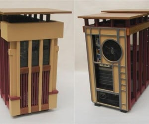 Jeffrey Stephenson Visits the House of Wright with His Usonian Pc Casemod