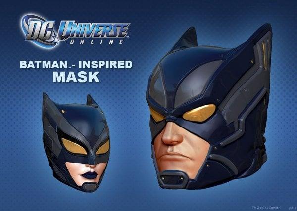 Batman Mask from Sony Entertainment