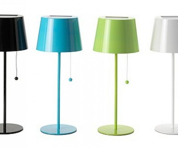 Live the Green Life With IKEA's Solar-Powered Table Lamp