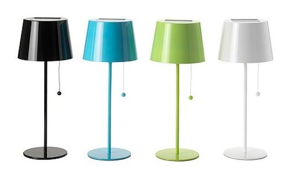 IKEA Solar-Powered Lamp
