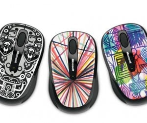 Microsoft's Mobile Mouse 3500 Artist Edition Says Bye-Bye To Boring-Looking Mice