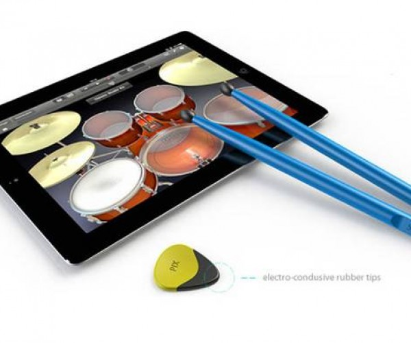 Pix & Stix Wants You To Really Bang On Your iPad Screen Like Real Drums