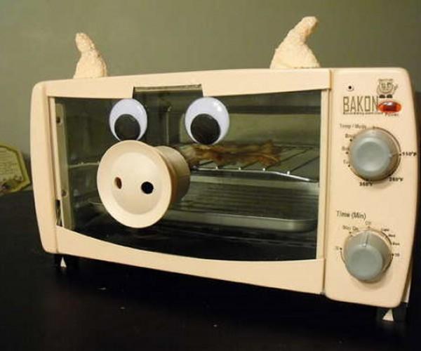 Bacon Alarm Clock: Wake and Bakon