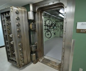 Bike Vault: For Bicyclists Who Really Take Bike Theft Seriously