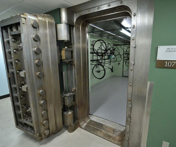 Bike Vault: For Bicyclists Who Really Take Bike Theft Seriously