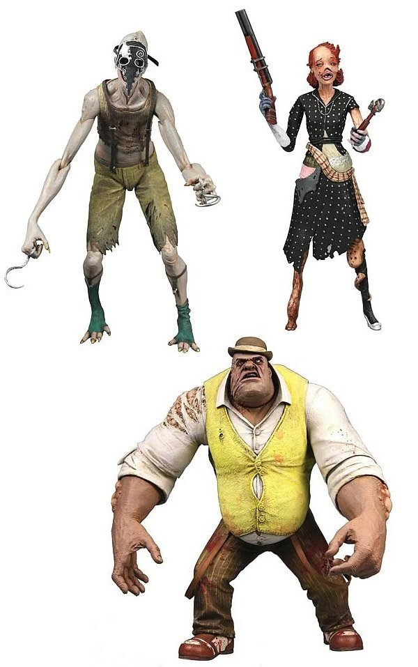 bioshock action figures splicers