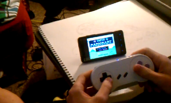 bluetooth snes controller for android by richdegenhardt