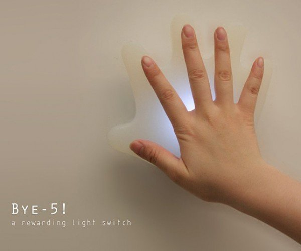 bye-5 room light switch by da deng