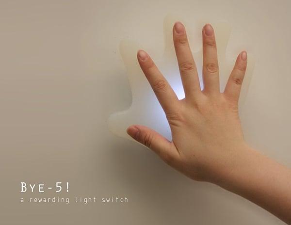 bye-5 room light switch by da deng