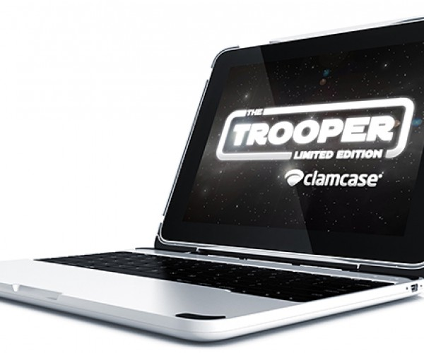ClamCase Trooper Keyboard Case & Stand for iPad & iPad 2: MacBook Pro Mini
