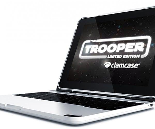 ClamCase Trooper Keyboard Case & Stand for iPad & iPad 2: MacBook Pro Mini