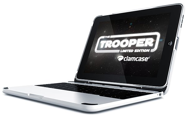 clamcase trooper limited edition ipad ipad 2 keyboard case and stand