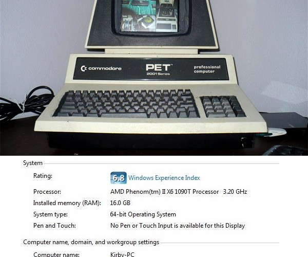 Commodore PET Gets New Life as Windows PC