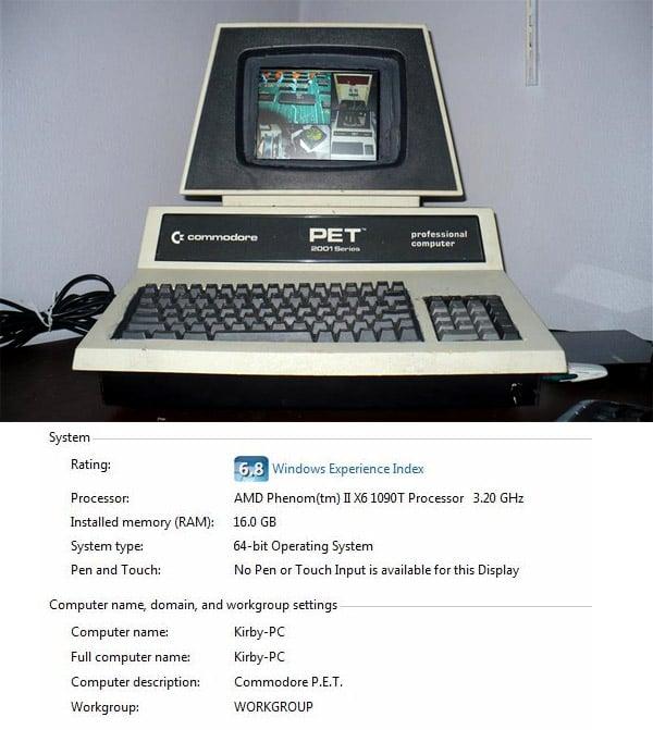 Commodore PET Gets New Life as Windows PC - Technabob
