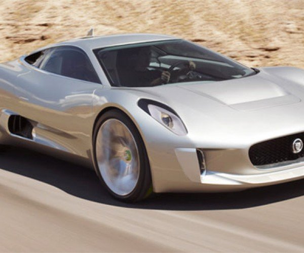 Awesome Jaguar C-X75 to Have Gas and Electric Power, 800 Horses
