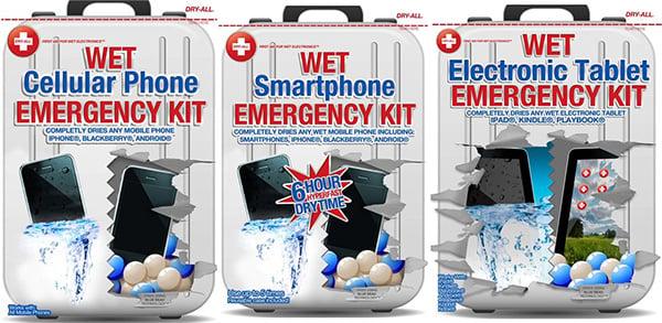 dry all wet emergency kit