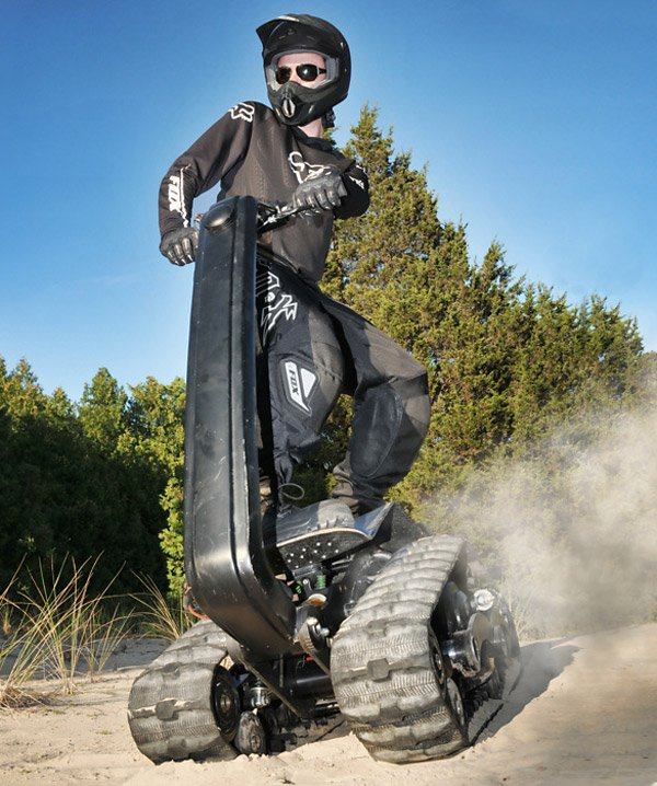 dtv shredder off road vehicle
