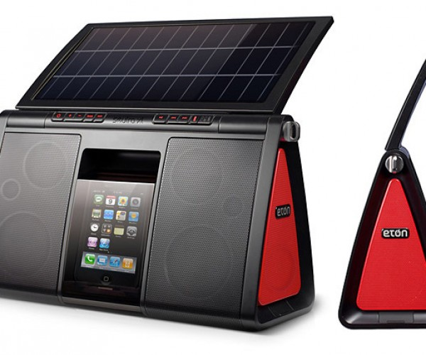 Eton's Soulra XL Solar Dock: Bigger Panel Means More Tunes