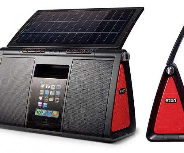 Eton's Soulra XL Solar Dock: Bigger Panel Means More Tunes