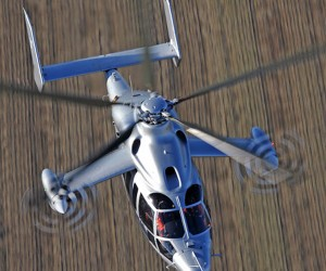 Eurocopter X3 Hybrid Helicopter Hits 232 knots
