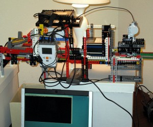 LEGO Mindstorms Rig Copies Floppies