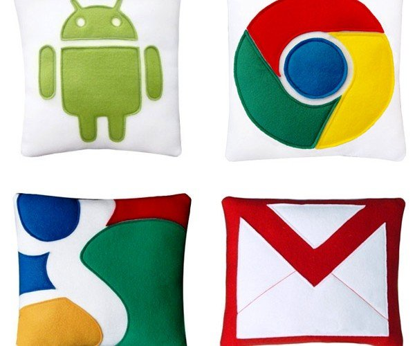 Google Pillows Perfect for Couch (and Web) Surfing