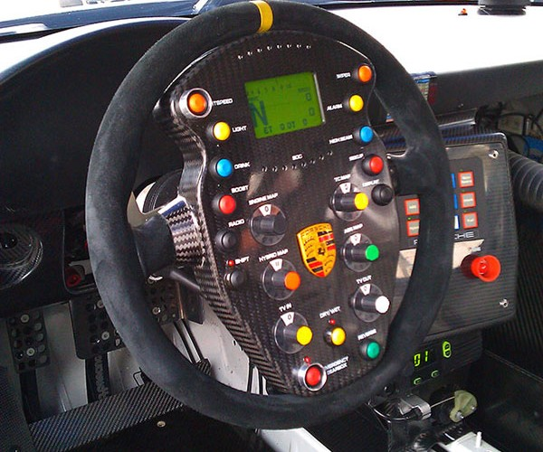 Porsche 911 GT3 Hybrid Racecar: Most Complex Steering Wheel Ever?