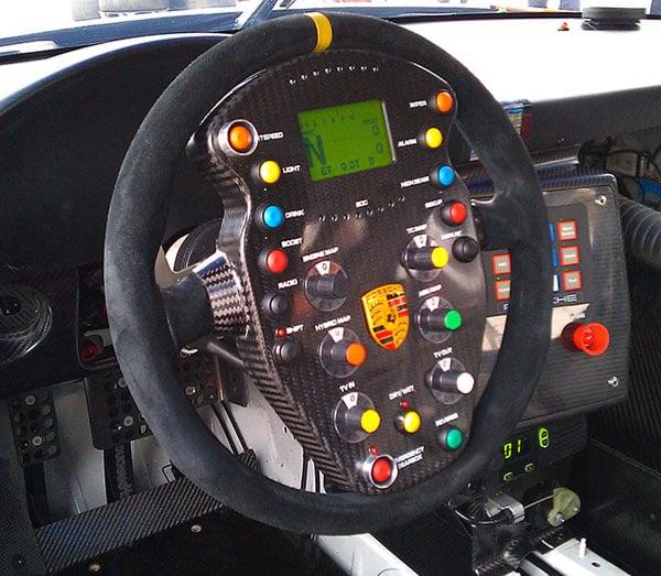 Porsche 911 Gt3 Hybrid Racecar Most Complex Steering