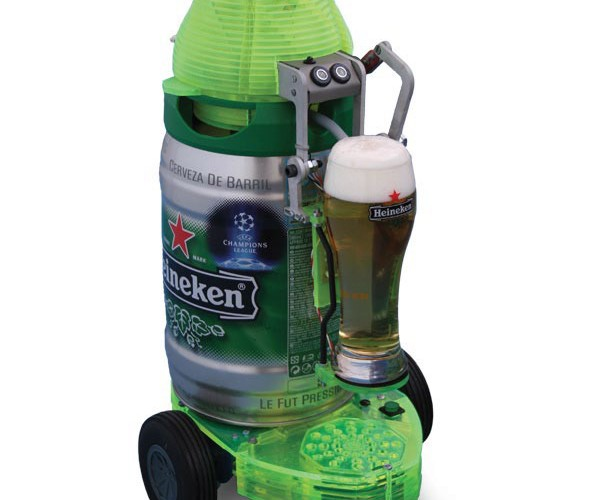 Heineken Beerbot Can Be Yours (for a Price)