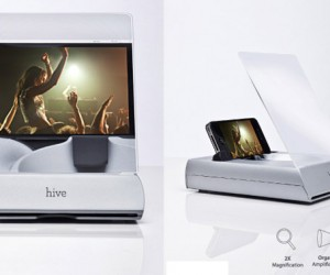 Hive Dock for iPhone 4 Boosts Both Audio and Video
