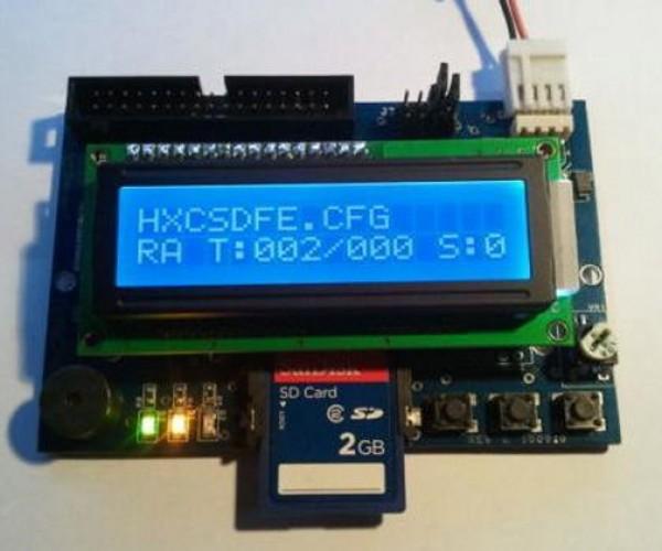 HxC SD Card Drive Emulates 3.5″ Floppy Disks