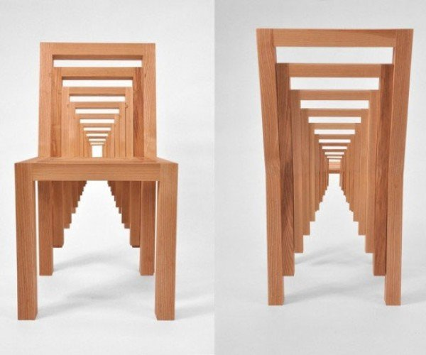 Inception Chair is Like Nesting Dolls for Your Butt