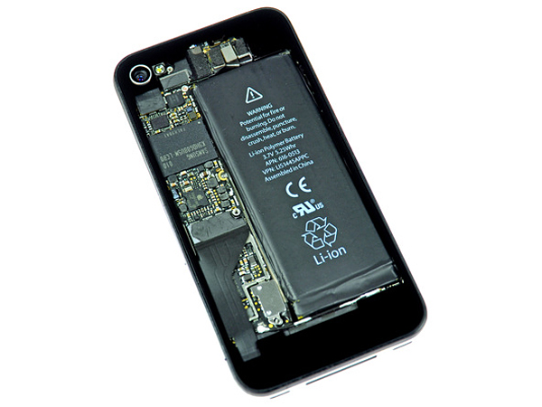 iphone 4 transparent rear panel from ifixit 2