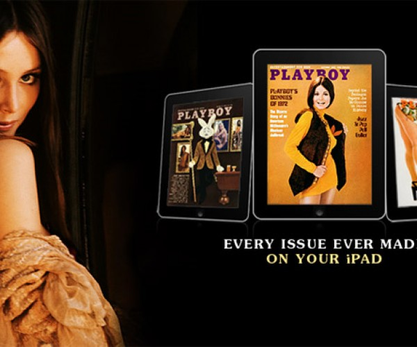 Playboy Hits iPad with iPlayboy: Time to Hide Your iPad Under the Bed, Boys.