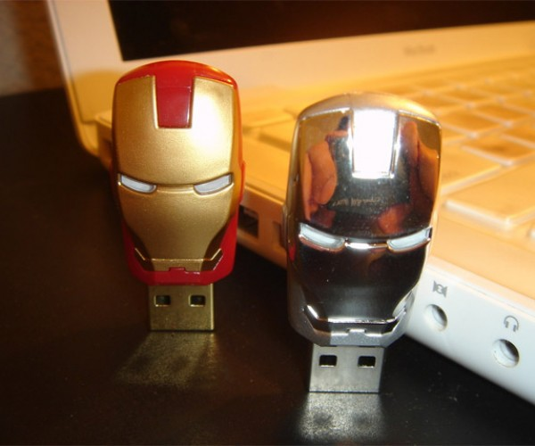 Japan's Iron Man 2 Flash Drives Way Better Than America's