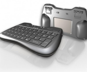 iTablet Bluetooth Thumb Keyboard & Trackpad Combo