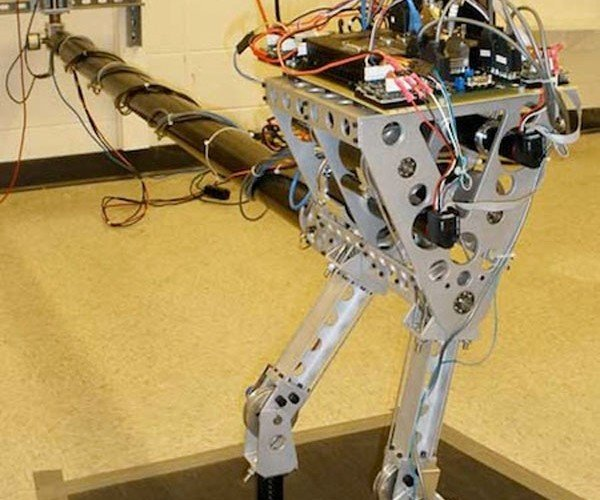 KURMET Bipedal Robot Jumps Like a Frog, But Isn't Green