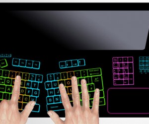 Keyless Lifebook Concept Lets You Make Your Own Virtual Keyboard