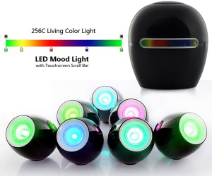 LED Mood Lights Offer a Touch of Color with a Touch of Your Fingertip