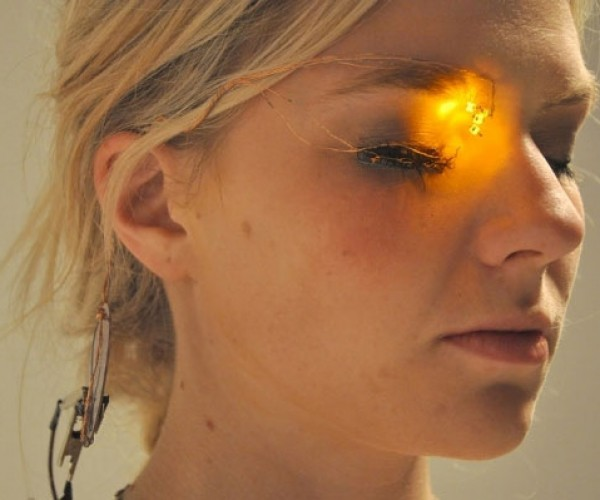 LED Eyeshadow: The Future of Makeup?