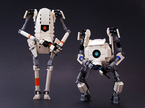 lego atlas and p-body by legohaulic