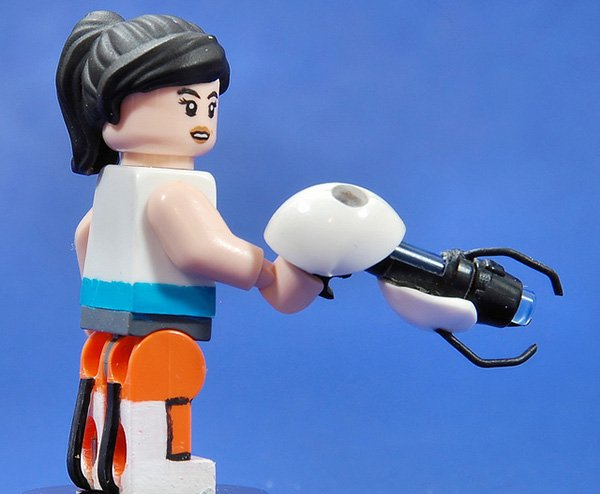 lego chell by catsy