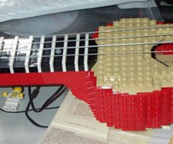 LEGO Ukulele Perfect for Geeky Hawaiians